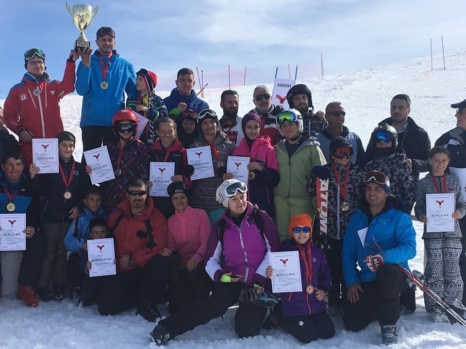 National ski racing in 2018